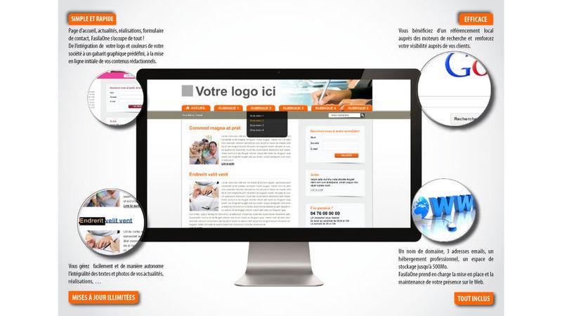 Créez votre site simplement et rapidement