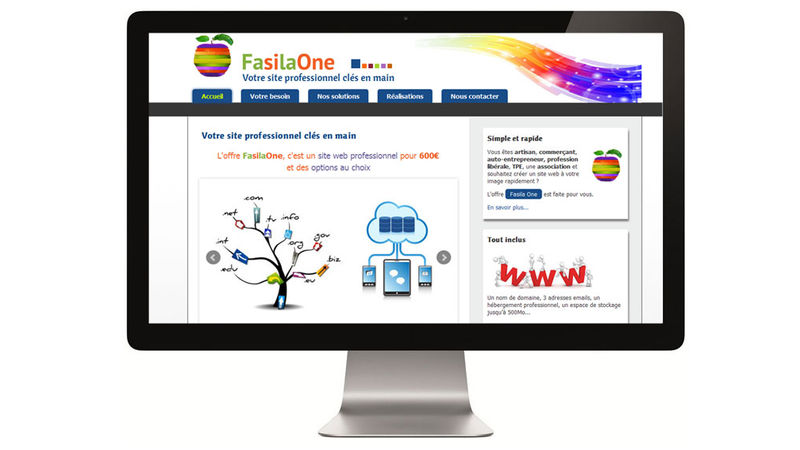 FasilaOne - Offre de sites web professionnels