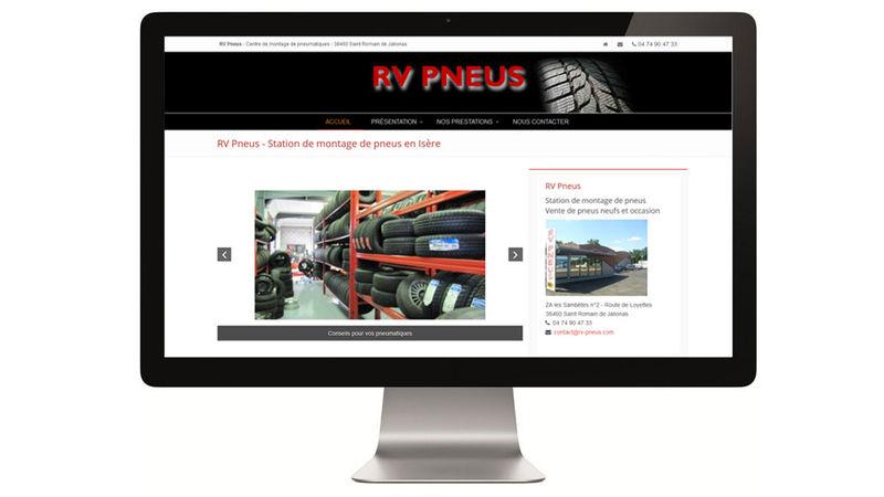 RV Pneus - Station de montage de pneus en Isère